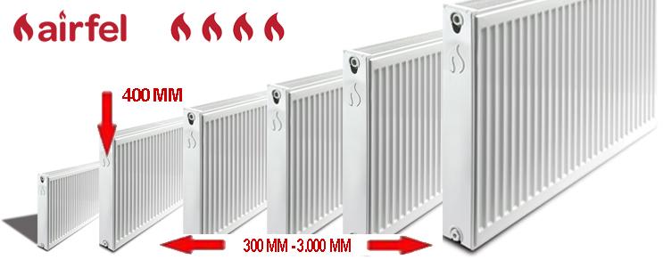 panel radiators type 33 height 400 mm. Black Bedroom Furniture Sets. Home Design Ideas